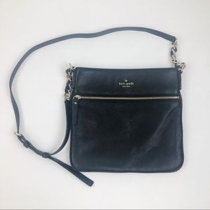 Kate Spade • Gorgeous Black Leather Crossbody Bag
